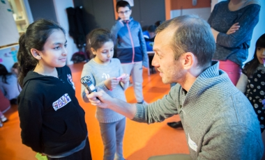 Ifsttar - Thumb result : Mobility and distraction: researchers and children working together!